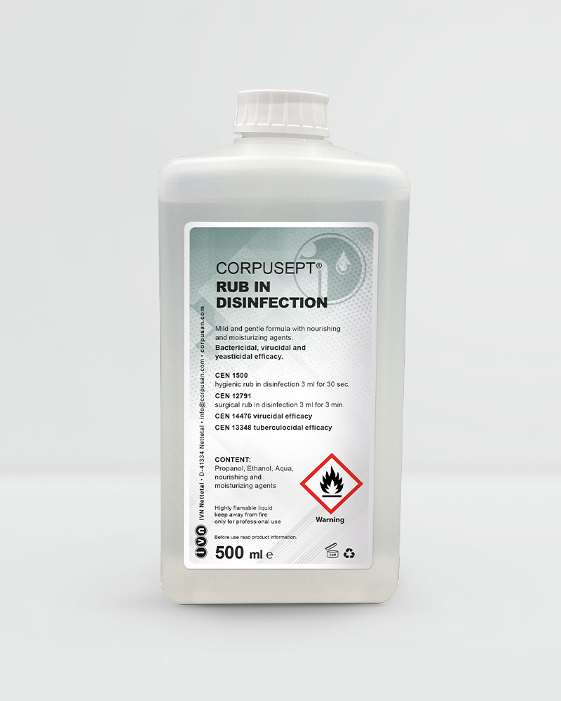 CORPUSEPT® Rub in disinfection