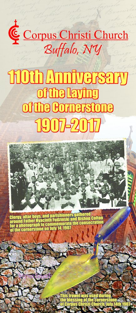 110th Anniversary of Cornerstone Laying