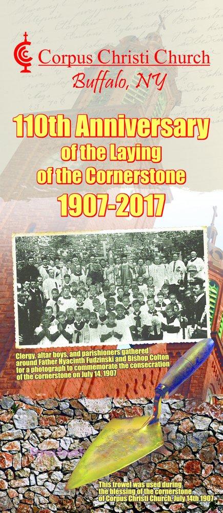 110th Anniversary of Cornerstone Laying