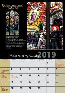 kalendarz Bufallo 20194
