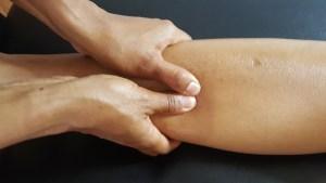 masaje analgésico