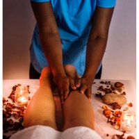 Masaje corporal localizado