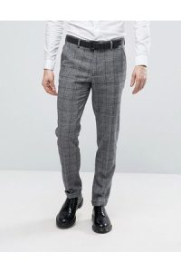 men's trousers, with squares