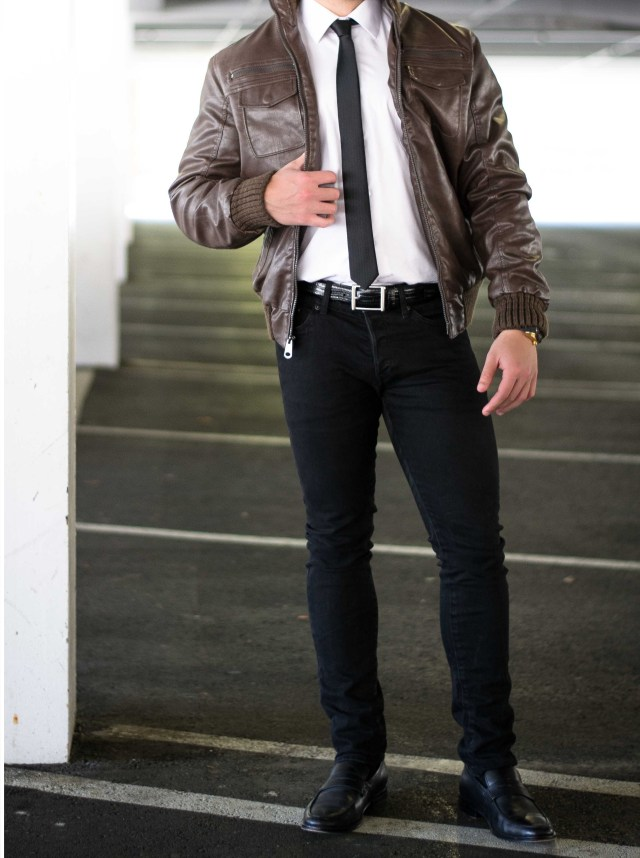 giacca in pelle, leather jacket