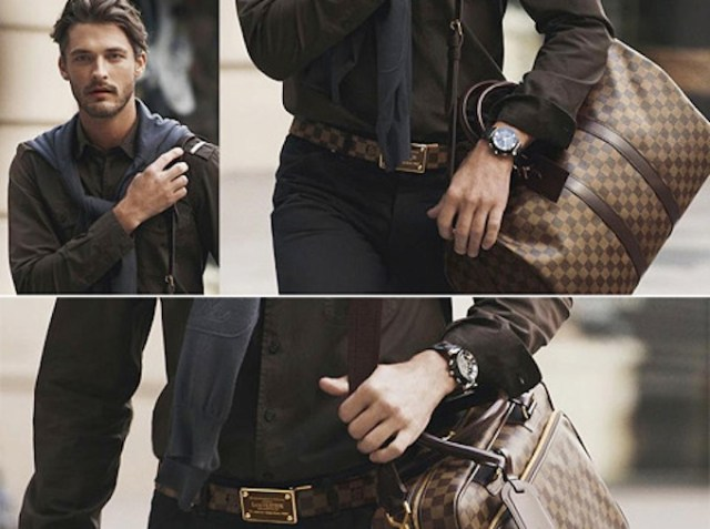 accessori must have per uomo, borsa loui vuitton