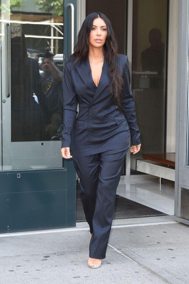 Kim Kardashian, look, outfit, west