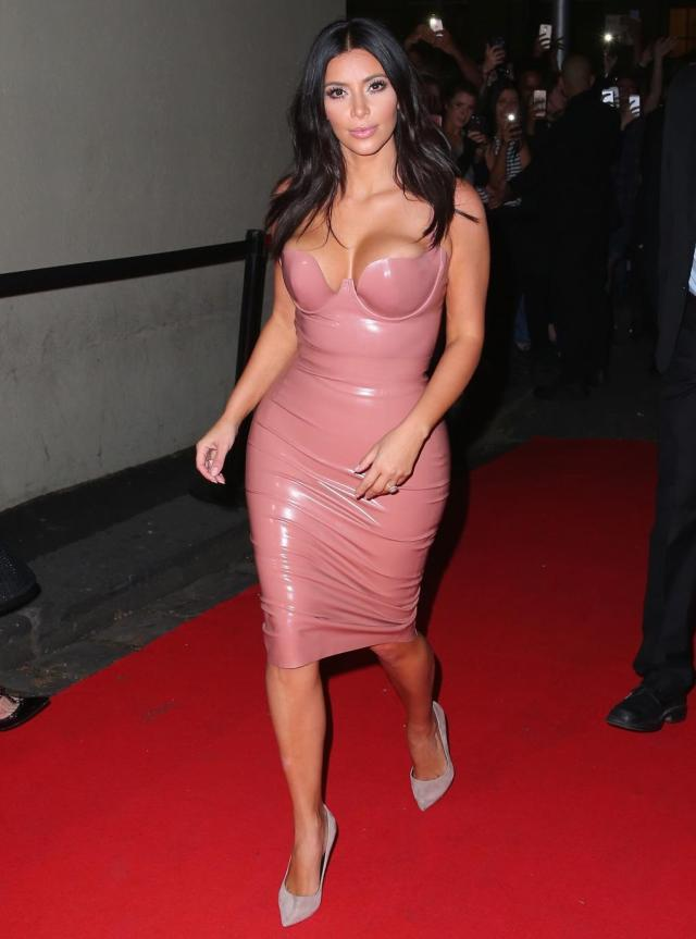 Kim Kardashian, look, outfit, west