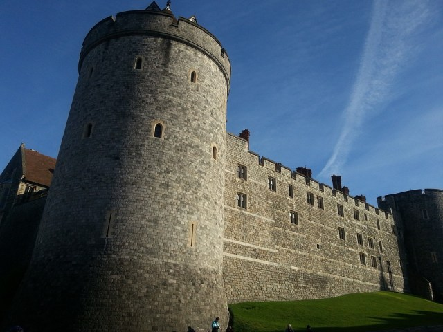 Windsor Castle on a clear morning