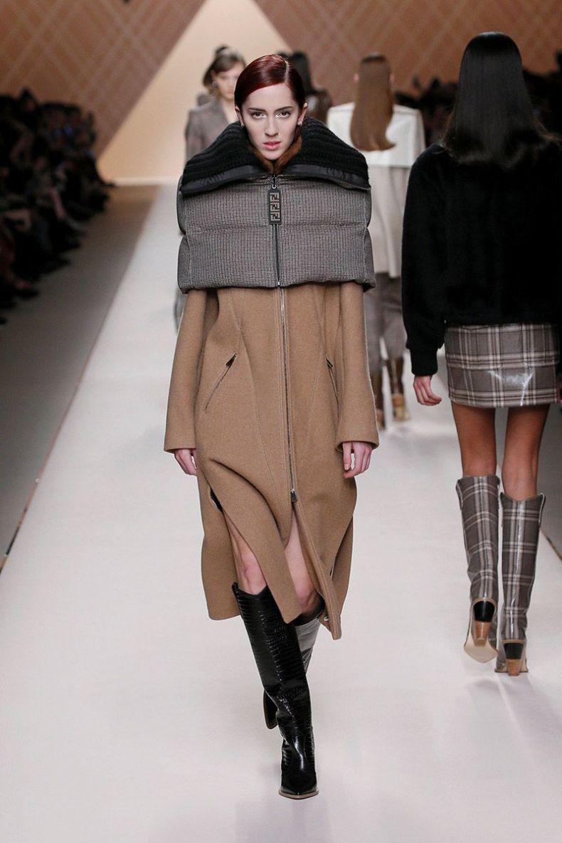 fendi, winter 2018/2019, fashion trends autumn winter 2018 2019
