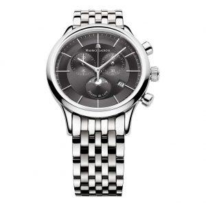 Maurice Lacroix LC1148-SS002-331 - Orologio da polso, acciaio inox, colore: grigio, orologi svizzeri