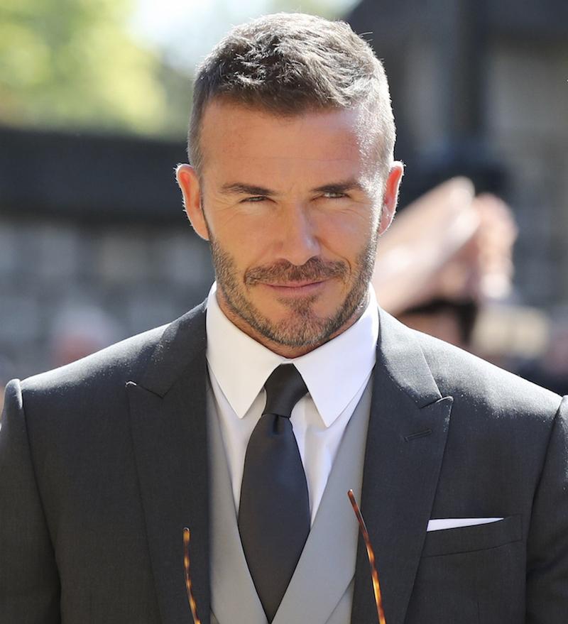 David Beckham, mens haircut 2019