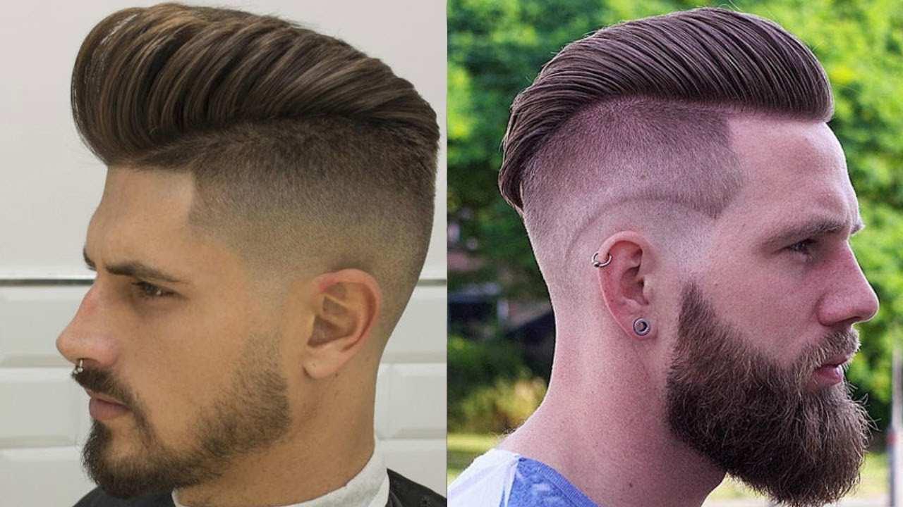 Taglio capelli uomo 2019, pompadour, cfs magazine