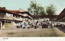 Postal del Corral del Conde, 1900
