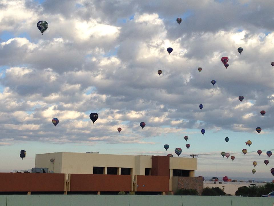 Hot Air balloons over CIS