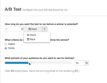 Pardot A/B testing
