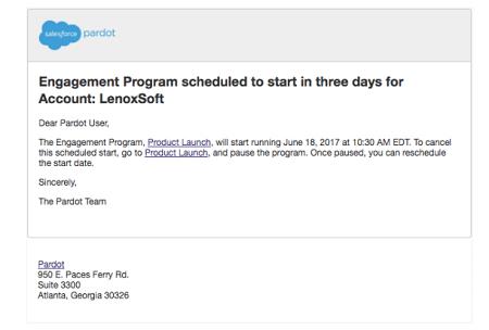 Reminder Engagement Studio Email