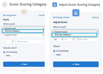 Scoring Categories Pardot Engagement Studio