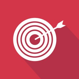Account-Based Marketing Tactic red target arrow
