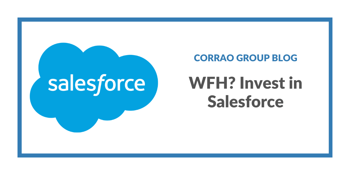 WFH? Invest in Salesforce