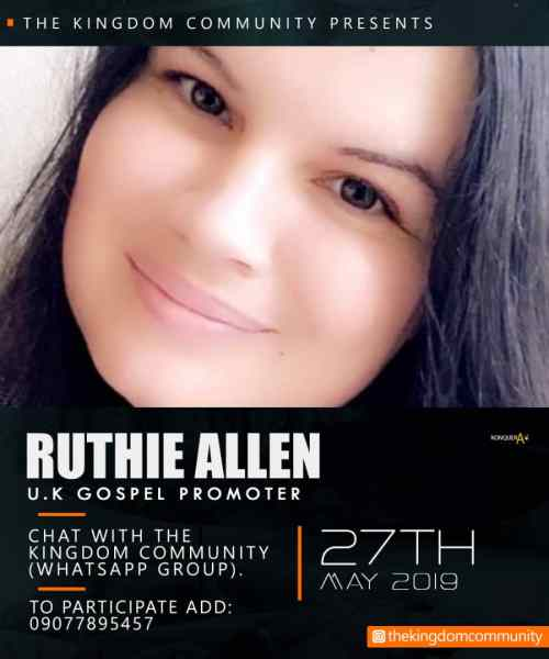 Ruthie Allen Chat with TKC
