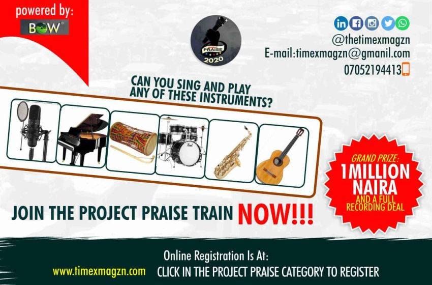 PROJECT PRAISE TALENT HUNT 2020 – TRADE TOUR TALENT