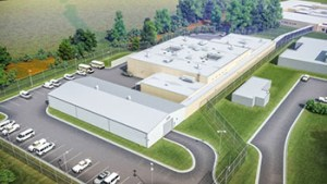 The Chesapeake Correctional Center broke ground in August on a 47,282-square-foot building addition that will house 192 inmates and offer space for community programs. Photo Credit: Moseley Architects