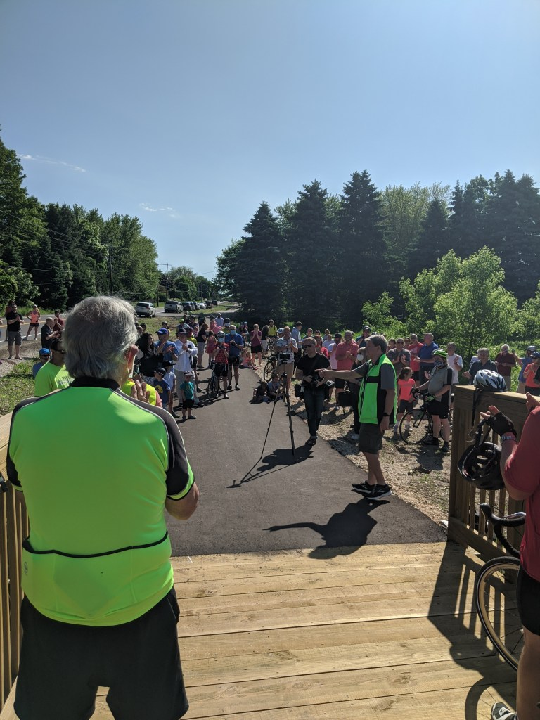 CTH C Shared-Use Path Ribbon Cutting Ceremony