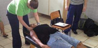 Tratamento através da Quiropraxia, em Manaus