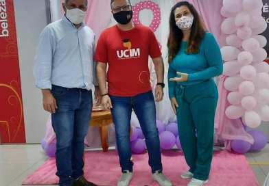 Instituto Mix recebe a visita do Secretário de Assistência Social Clayton Ramos e a Vereadora Cristiane Muller de Tramandaí