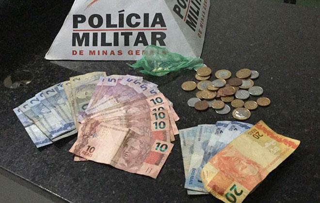 Polícia Militar flagra garoto de 11 anos sendo usado para vender drogas próximo à Rodoviária