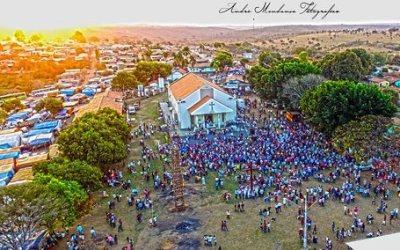 Santuário de Nossa Senhora da Abadia em Andrequice distribui 25 mil hóstias em 41 missas