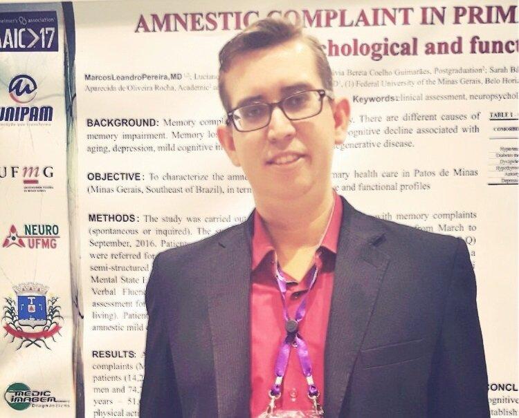 Professor vazantino representa Unipam em Congresso na Inglaterra