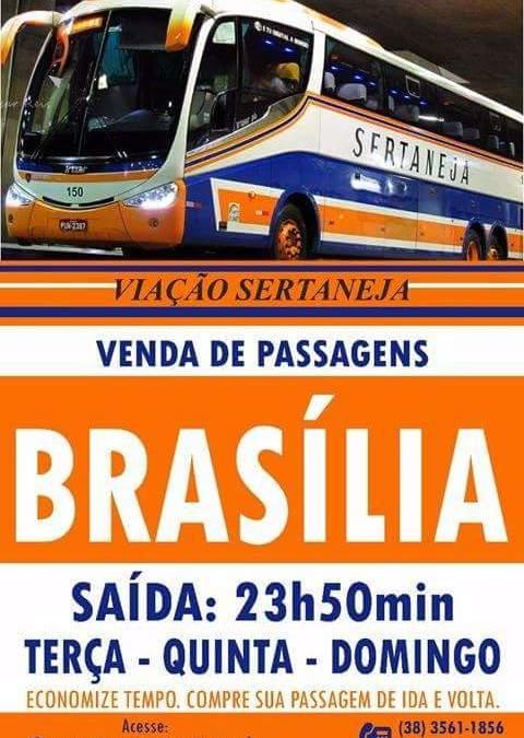 Lagamar volta a ter ônibus para Brasília, entenda!