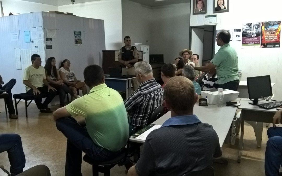 Polícia Militar faz reunião comunitária com produtores rurais de Guarda-mor