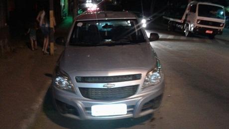 VAZANTE: Veículo tomado de assalto em fazenda é recuperado em Monte Carmelo