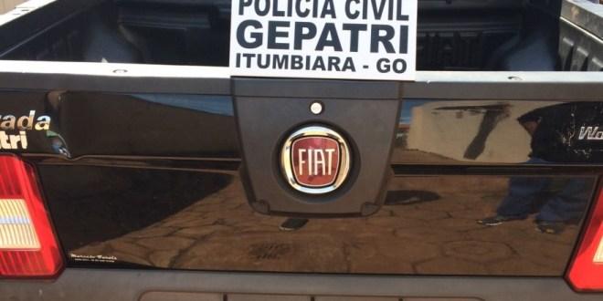 Policiais Civis do GEPATRI recuperam veículo roubado