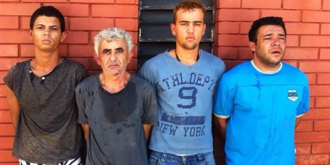 Polícia prende suspeitos de explodir caixa do Banco do Brasil em Morrinhos