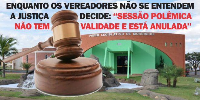 Justiça decide que sessão extraordinária não teve efeito e mantém secretário
