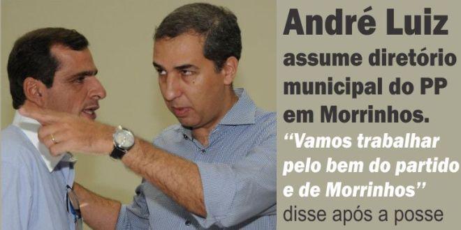 André Luiz é o novo presidente do PP em Morrinhos.