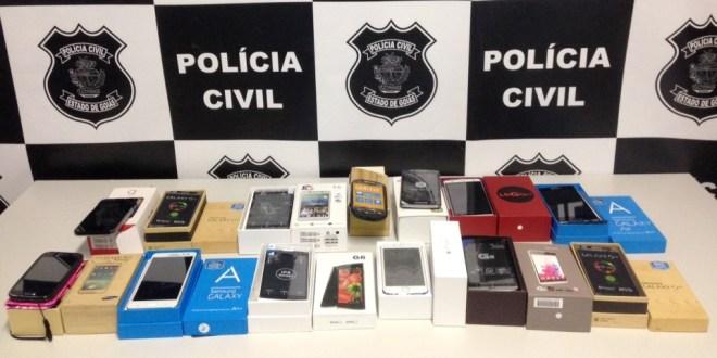 Seu celular é original? Tem certeza? Polícia Civil apreende aparelhos falsos em Morrinhos
