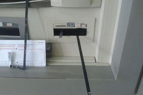 """GOLPE: Cliente percebe fraude em caixa eletrônico e aciona PM – """"pescaria""""…"""