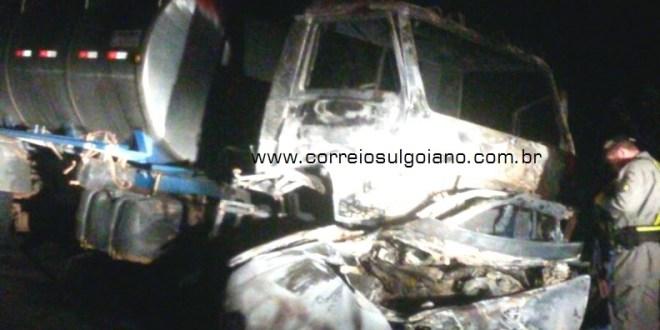 GO-215: Acidente provoca morte de condutor entre Pontalina e Edealina