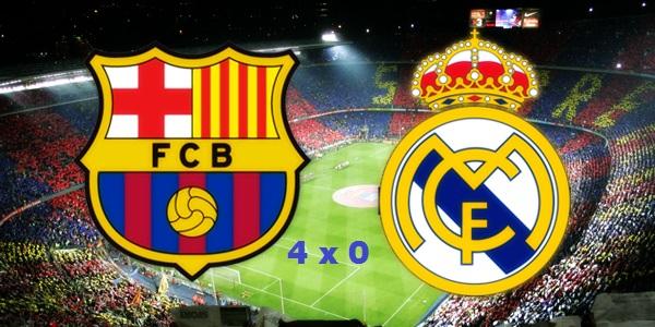 JOGÃO: Barcelona atropela Real Madrid e afunda rival em crise