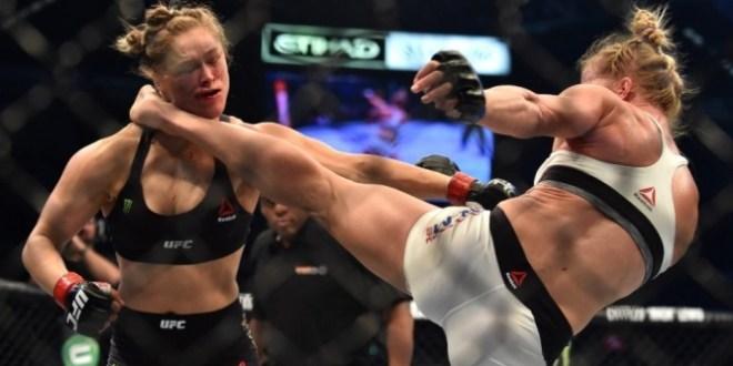 Surpresa: Ronda Rousey perde por knockout para Holly Holm no UFC 193