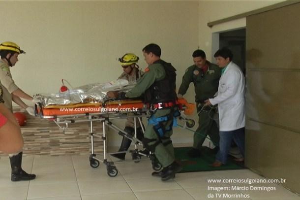 Equipe médica se esforçou e usou todos os recursos, mas, ferimentos foram graves
