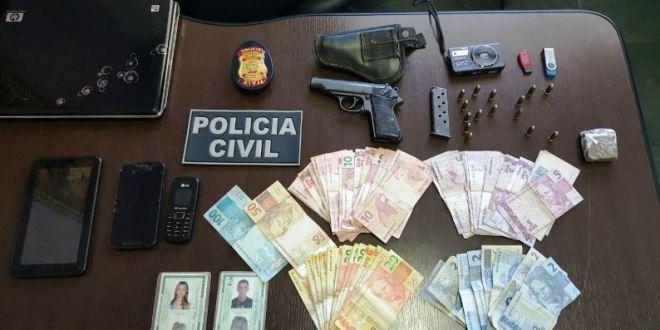 Operação Rainha do Tráfico: Polícia Civil desvenda caso e prende suspeitos de duplo homicídio em Caldas Novas
