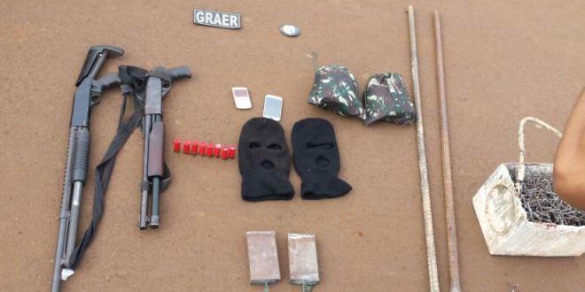 Inteligência Policial: Em Gouvelândia, polícias surpreendem bando e evitam furto em agência bancária! Na troca de tiros, dois suspeitos morreram!!!