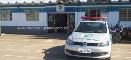Suspeitos de roubo atiram contra policiais em Morrinhos! PM reage e um dos suspeitos é baleado. Dois presos e dois foragidos!