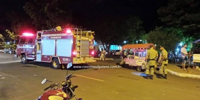 Passa bem o segurança baleado na porta da UEG Morrinhos, na noite de quarta-feira, 05/04/17