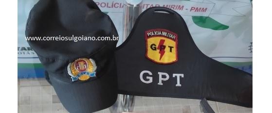 GPT identifica e prende homem que arremessou drogas para dentro do presídio em Morrinhos